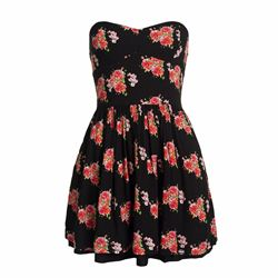 Superdry 50's tropical print dress