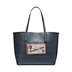 Coach Reversible City Tote W Collaboration Motif