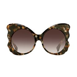 Linda Farrow  Mathew Williamson tortoiseshell sunglasses from Bicester Village