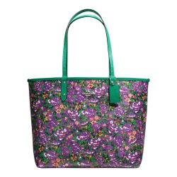 City tote reversible violeta multi Coach
