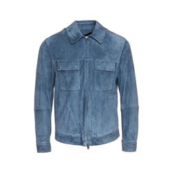 dunhill  Suede blouson jacket from Bicester Village