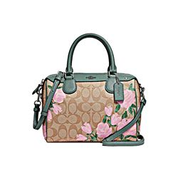 Mini Bennet Satchell floral