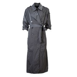 Long duster trench coat