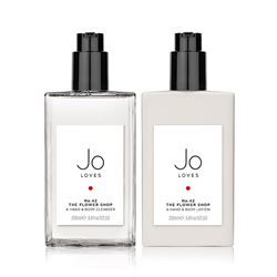 Jo Loves No.42 cleanser & lotion from Bicester Village