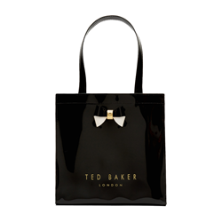 Ted Baker Colour block large icon bag with bow