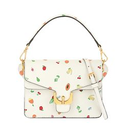 Bag in white with fruits by Coccinelle at Wertheim Village