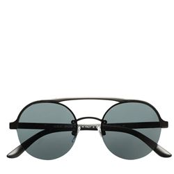 Men's sunglasses in black by Armani Outlet at Ingolstadt Village