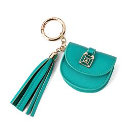 Keyring and Card etui in turquoise by Patrizia Pepe at Ingolstadt Village