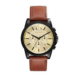 Armani Exchange brown watx