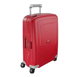 Samsonite S'Cure 55cm Spinner in red