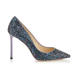 Damen-High-Heel 'Romy 100' in Petrol von Jimmy Choo in Ingolstadt Village