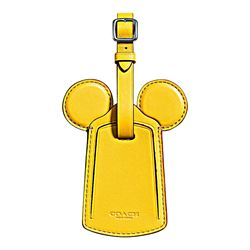 Coach  Banana Mickey Leather Ear Luggage Tag from Bicester Village