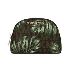 Michael Kors Olive Jet Set Travel Medium Travel Pouch