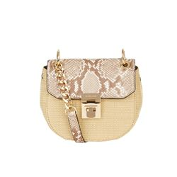 Michael Kors SAND/NATURAL Small cross body bag from Bicester Village