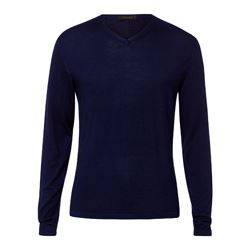 Falke navy jumper