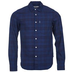Barbour  Toby indigo shirt from Bicester Village