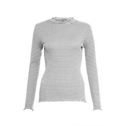 Tim Tim Stripe High Neck Top