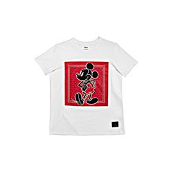 Coach White Mickey Prairie Bandana T-Shirt from Bicester Village