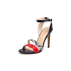 Guess Women's Black and Red Dress Heel