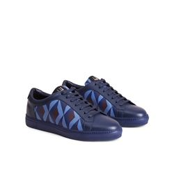 dunhill  Core print tennis shoe from Bicester Village