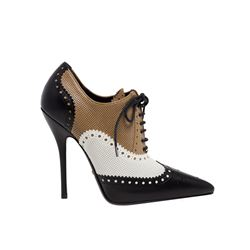 Perforated leather shoes, Gucci