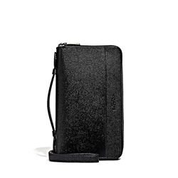 Double Zip Organizer in Schwarz