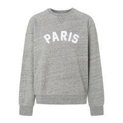 Paris grey sweatshirt