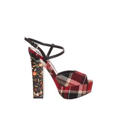 Dsquared2  Tartan heels from Bicester Village