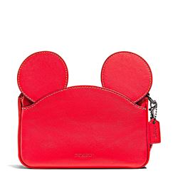Damen-Handtasche 'Mickey Patricia Ear' in Rot von Coach in Wertheim Village