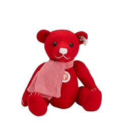 Teddy in red