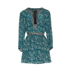 The Kooples  Sunrise green dress from Bicester Village