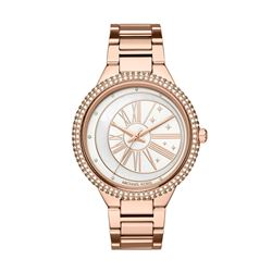 Michael Kors women's watch in rosegold by Watch Station International at Wertheim Village