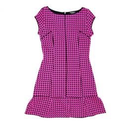 Juicy Couture Pink houndstooth dress