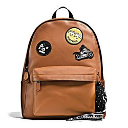 Herren-Rucksack 'Charles Backpack in Patchwork Leather featuring Mickey' von Coach in Wertheim Village