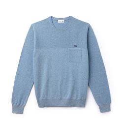 Lacoste, Pull bleu homme