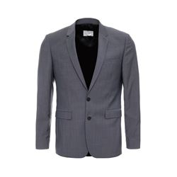 Sandro Grey Notch riviera jacket from Bicester Village