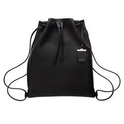 DKNY Leather sportsac