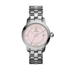 Tory Burch  Pink dial 38mm watch from Bicester Village