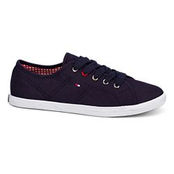 Tommy Hilfiger navy textile sneaker