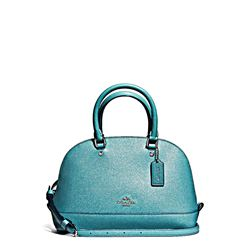 Coach Teal Mini Sierra