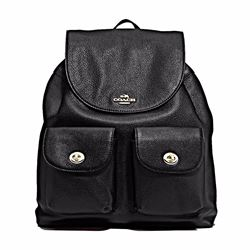 Coach Billie pebbled leather backpack