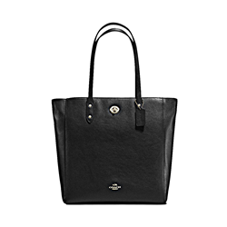 Pebble Leather Town Tote
