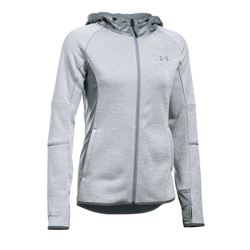 Women's jacket in grey by Under Armour at Wertheim Village