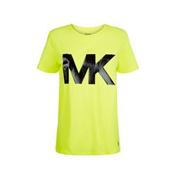 Michael Kors Men's Neon Yellow Logo Tee