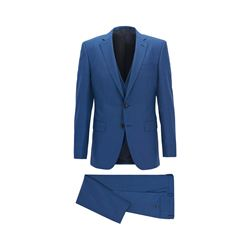 Boss men's open blue Huge6/Genius5 WE Suit