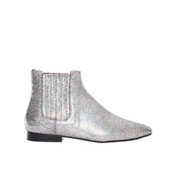 Joseph  Silver boots from Bicester Village