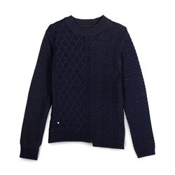Zadig & Voltaire, Blue and grey sweater