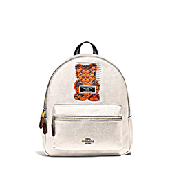 'Gummy Bear Charlie' Backpack in White by Coach at Ingolstadt Village