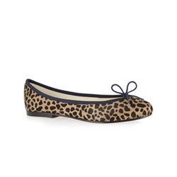 French Sole  Leopard print ballet flats from Bicester Village