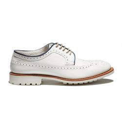 Zapato Oxford Blanco Lotusse